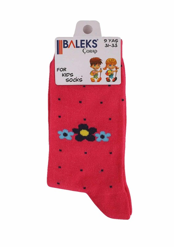 BALEKS - Baleks Soket Çorap 831   Pembe