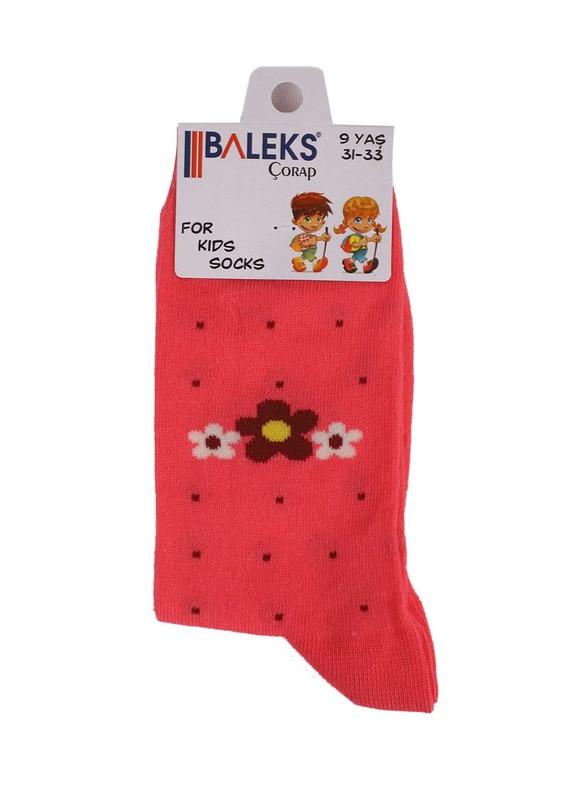 BALEKS - Baleks Soket Çorap 831   Pudra