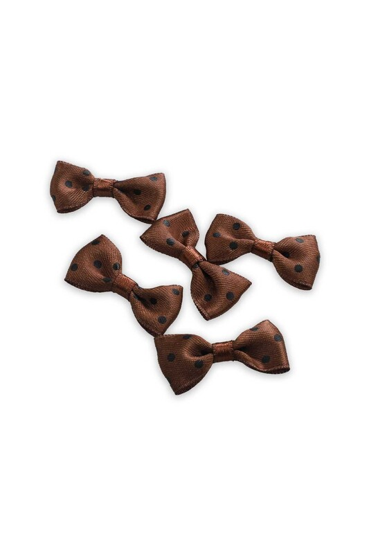 SİMİSSO - Бантик Amigurumi 5 шт./коричневый