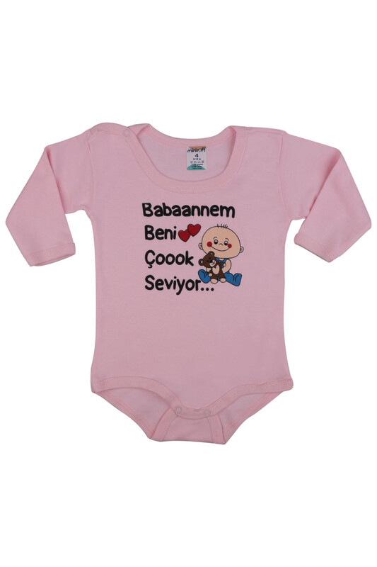 SİMİSSO - Babaannem Beni Çok Seviyor Bebek Zıbın | Pembe