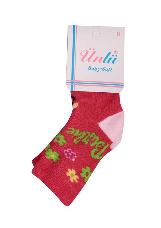 ÜNLÜ BABY - Ünlü Baby Çorap 106 | Pembe