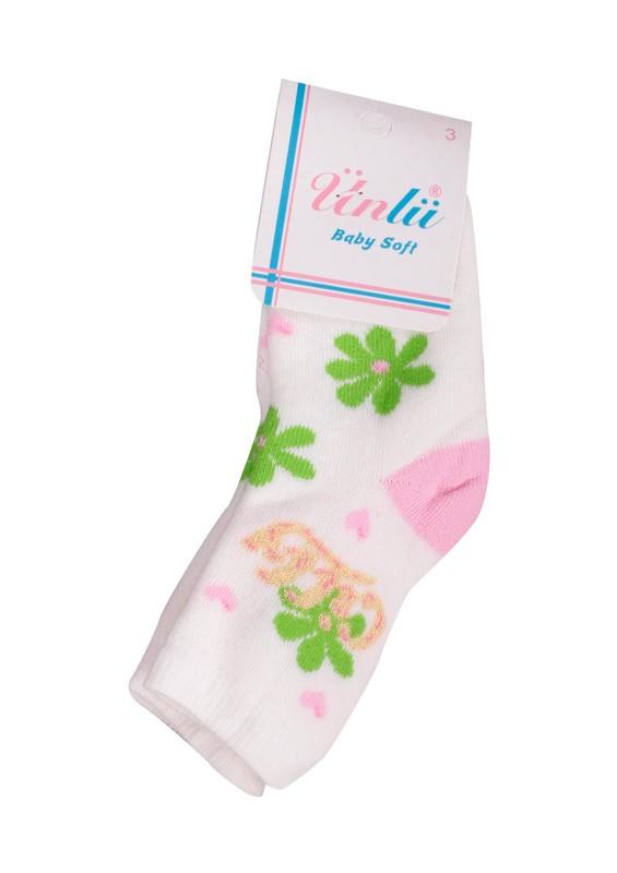 ÜNLÜ BABY - Ünlü Baby Çorap 107 | Beyaz