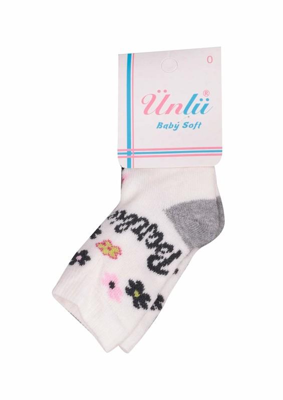 ÜNLÜ BABY - Ünlü Baby Çorap 106 | Krem