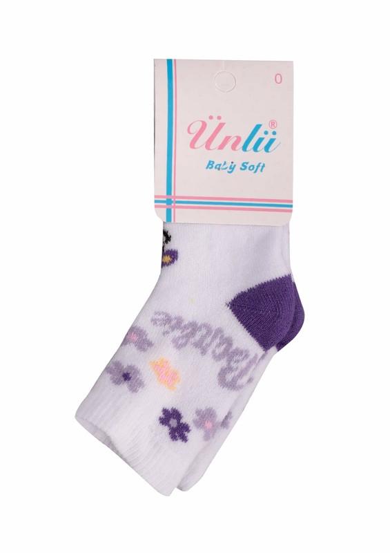 ÜNLÜ BABY - Ünlü Baby Çorap 106 | Beyaz