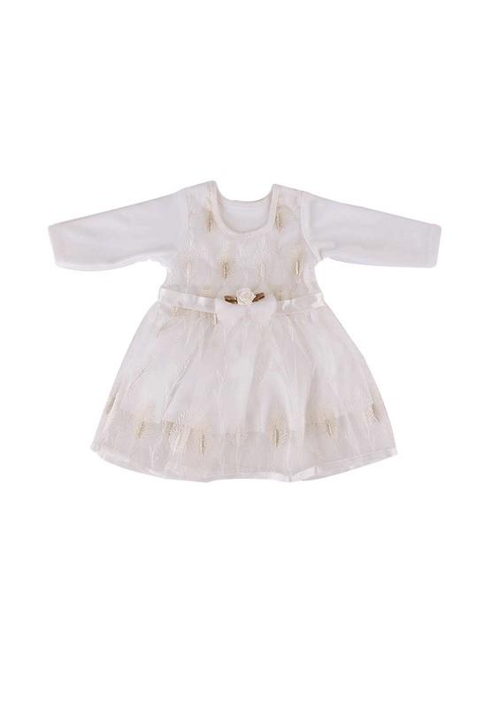 SİMİSSO - Simisso Bebek Elbisesi 782   Krem