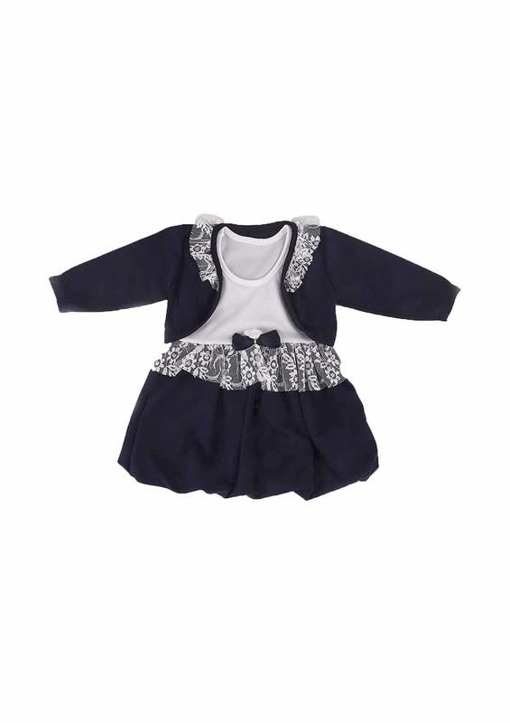 SİMİSSO - Simisso Bebek Elbisesi 783 | Lacivert