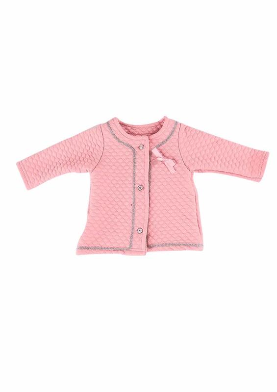 HOPPALA BABY - Hoppala Baby Hırka 698 | Bebe Pembe