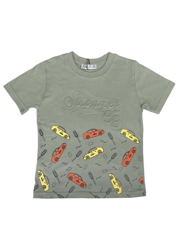 SİMİSSO - Simisso T-Shirt 19445 | Yeşil