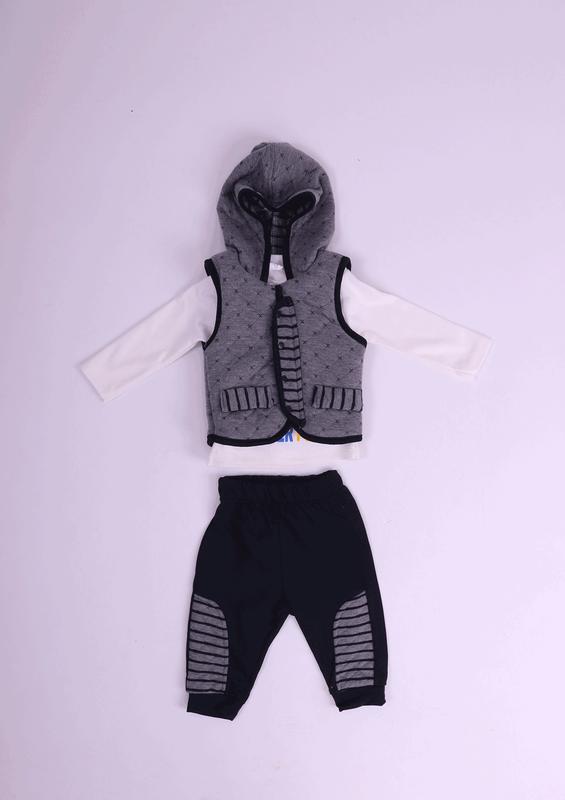 BABY CHOİCE - Baby Choice Bebek Takımı 5068 | Gri