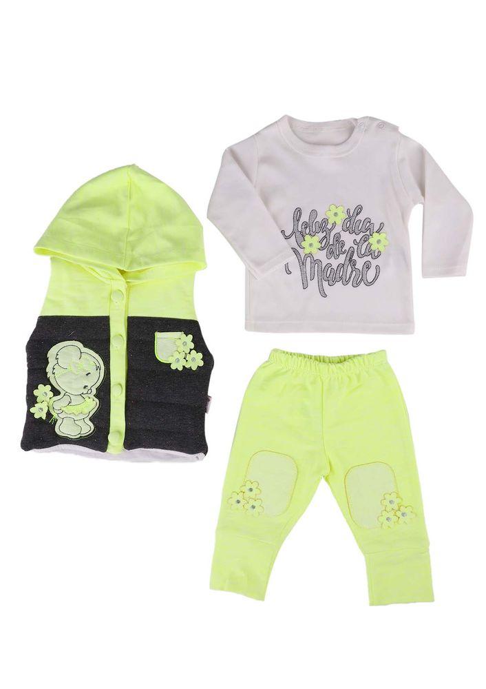 Hıppıl Bebek Takımı 1068   Yeşil