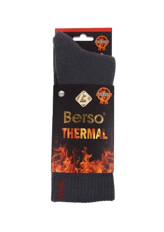 BERSO - Berso Termal Çorap 16010 | Gri