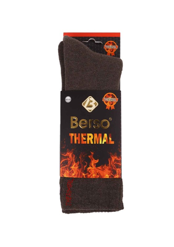BERSO - Berso Termal Çorap 16010 | Kahverengi