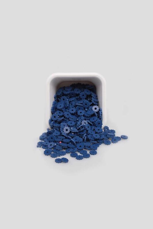 SİMİSSO - Çiçek Hamur Fimo Boncuk 6 mm | Lacivert