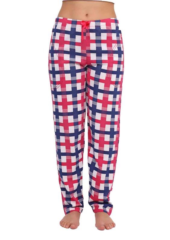 ARCAN - Boru Paçalı Desenli Pijama Altı 018   Pembe