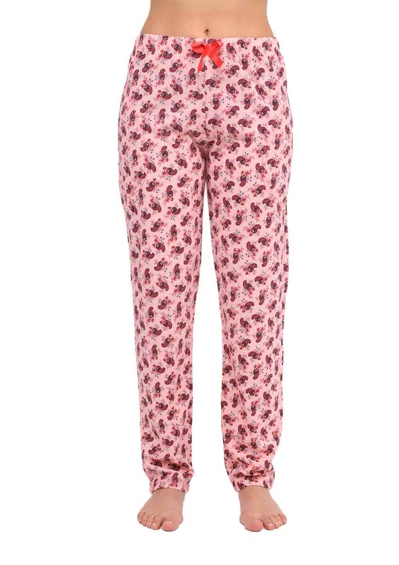 ARCAN - Boru Paçalı Desenli Pijama Altı 028   Yavru Ağzı
