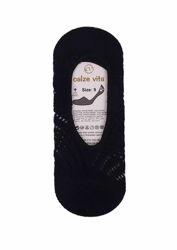CALZE VİTA - Calze Vita Babet Çorap 555   Lacivert