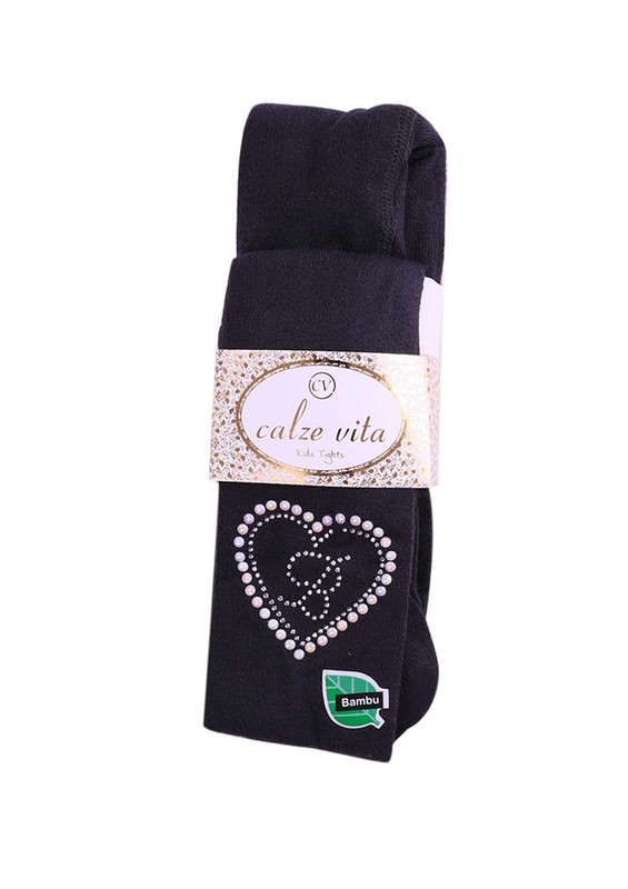 CALZE VİTA - Calze Vita Bambu Külotlu Çorap   Füme