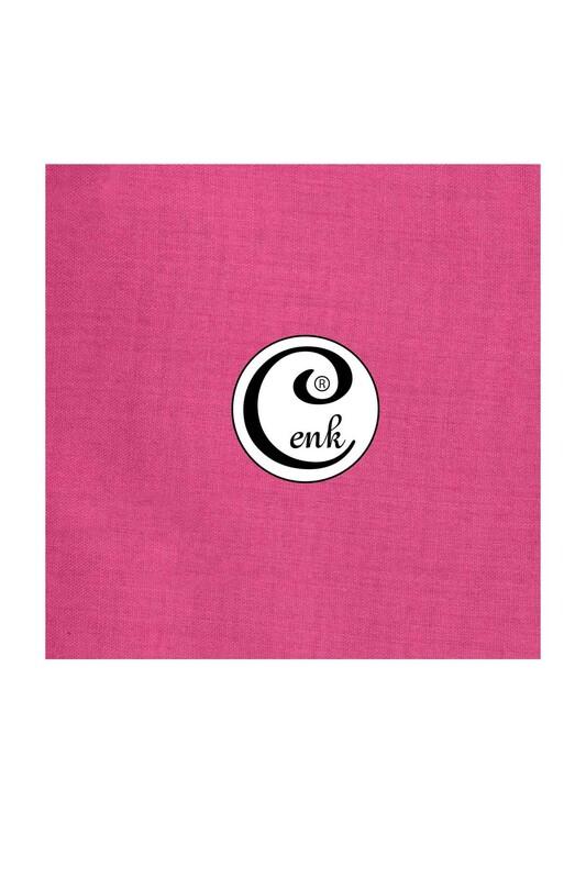 CENK - Cenk Dikişsiz Düz Yazma 90 cm | Açık Fuşya 005