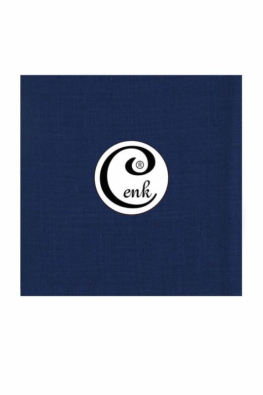 CENK - Cenk Dikişsiz Düz Yazma 90 cm   Gece Mavi