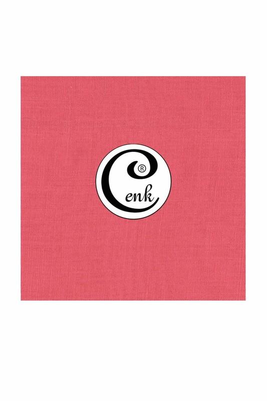 CENK - Cenk Dikişsiz Düz Yazma 90 cm   Gül Pembe 649