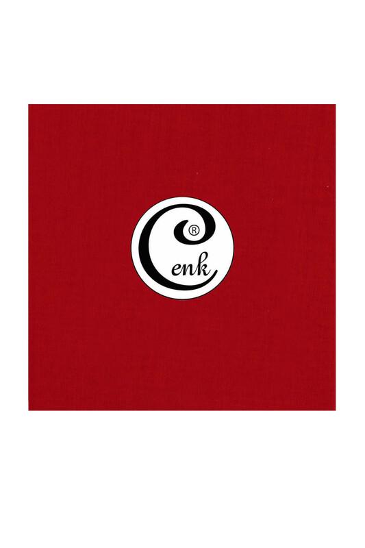 CENK - Cenk Dikişsiz Düz Yazma 90 cm   Şarabi 646