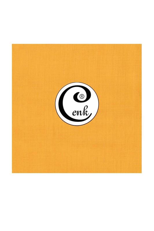 CENK - Cenk Dikişsiz Düz Yazma 90 cm   Sarı