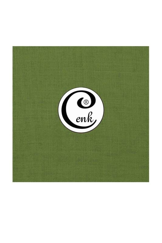CENK - Cenk Dikişsiz Düz Yazma 90 cm   Yeşil