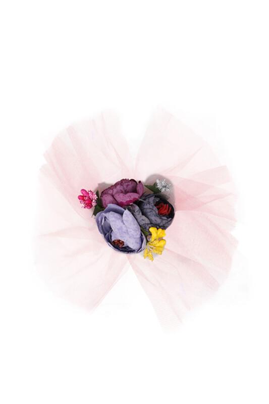SİMİSSO - Çiçekli Bohça Süsü | Pembe