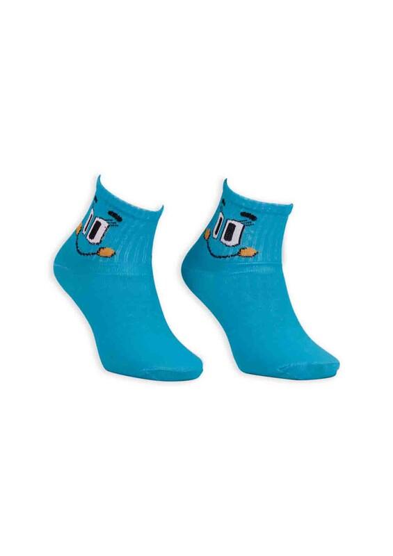 SİMİSSO - Çizgi Film Karakterli Bilek Çorap | Mavi