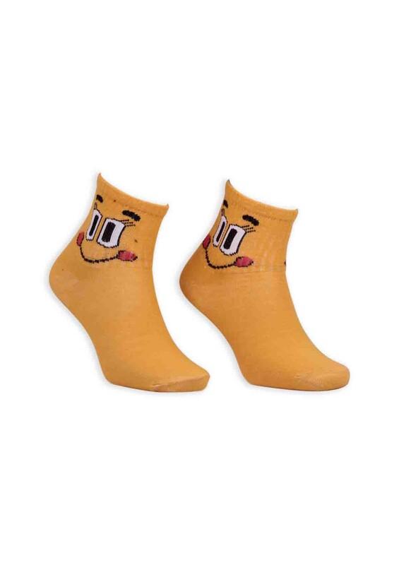 SİMİSSO - Çizgi Film Karakterli Bilek Çorap | Sarı