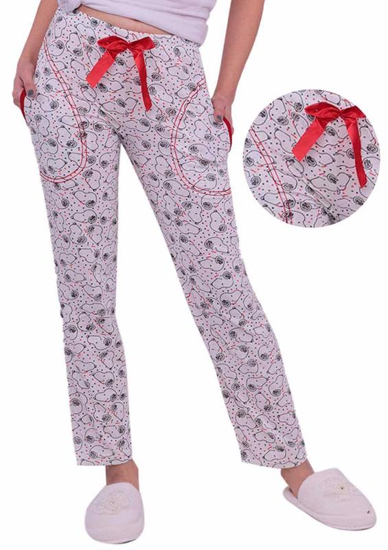 CALİMERA - Çizgi Film Karakterli Pijama Altı 31963 | Beyaz