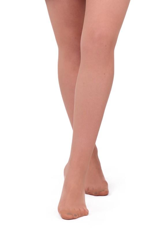 DAYMOD - Daymod İnce Külotlu Çorap Fity 15   Ten