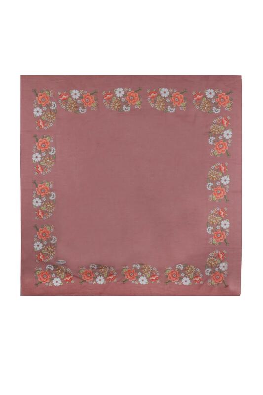 İPEKÇE - İpekçe Çiçek Desenli Yazma 90 cm | 033