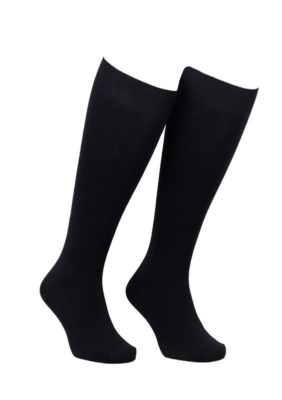 DİBA - Desimo Dikişsiz Diz Çorap 288 | Siyah