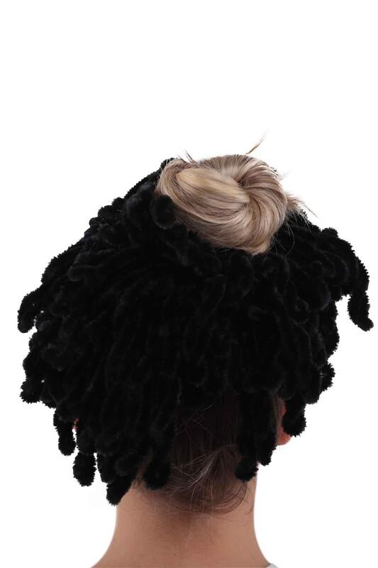 SİMİSSO - Topuz Tokası | Siyah