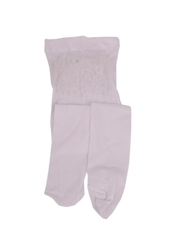 DORE - Dore Bebek Külotlu Çorap 007 | Beyaz