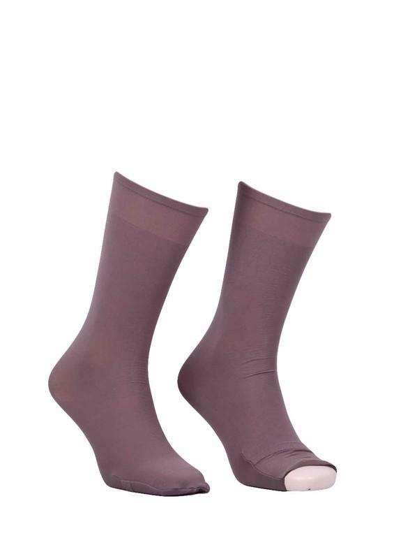 DORE - Dore Düz Dizaltı Abdest Çorabı 603 | Vizon