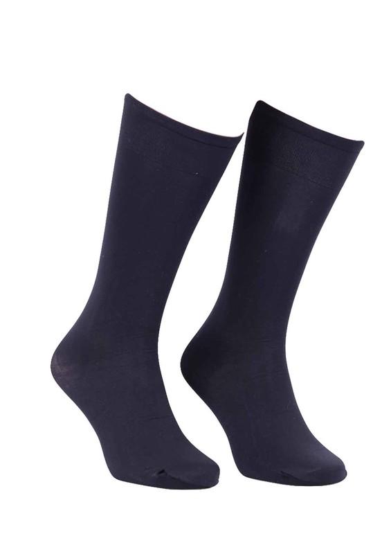 DORE - Dore Teni Göstermeyen Saten Çorap 215 | Siyah