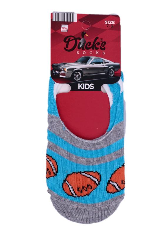 DUCKS - Ducks Çocuk Babet Çorap 9005 | Gri