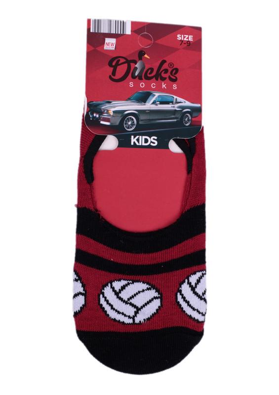 DUCKS - Ducks Çocuk Babet Çorap 9005 | Siyah