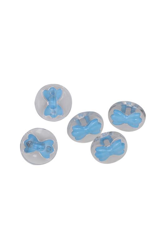 SİMİSSO - Fiyonk Figürlü Düğme 5 Adet