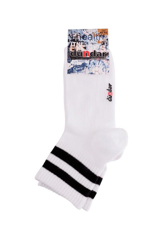 DÜNDAR - Dündar 201 Çorap | Beyaz