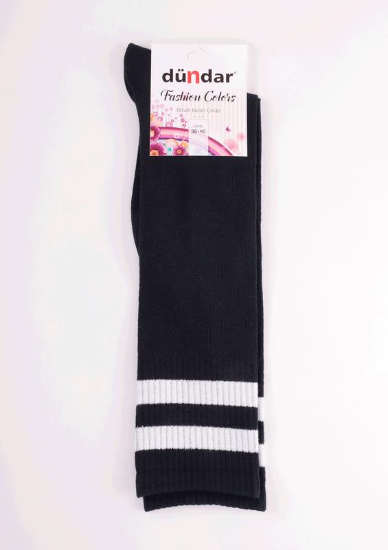 DÜNDAR - Dündar Dizaltı Çorap 3004 | Lacivert