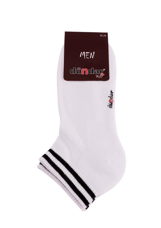DÜNDAR - Dündar Havlu Patik Çorap 651 | Beyaz