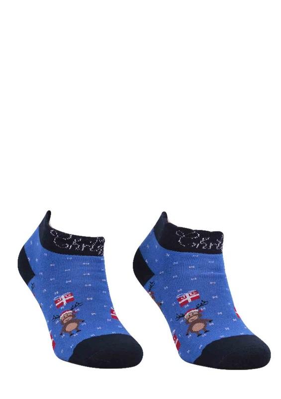 Dündar Havlu Soket Çorap 009 | Mavi - Thumbnail