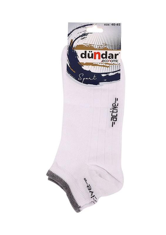 DÜNDAR - Dündar Patik Çorap 437 | Beyaz