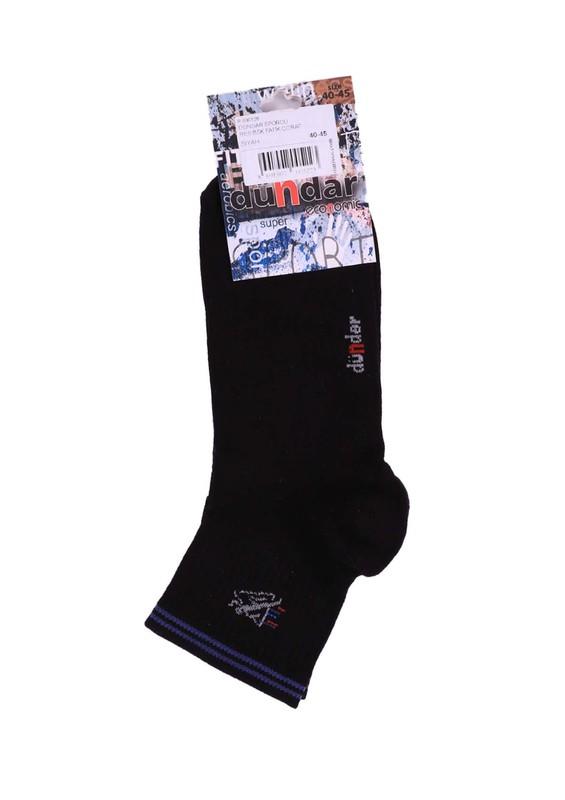 DÜNDAR - Dündar Patik Çorap 454   Siyah
