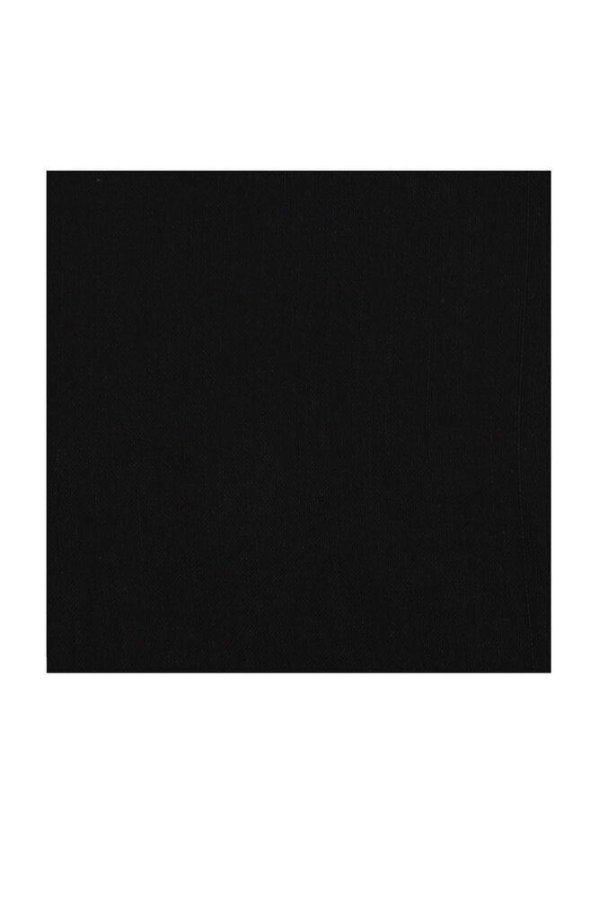 Kaşmir Dikişsiz Düz Yazma 90 cm Siyah 2