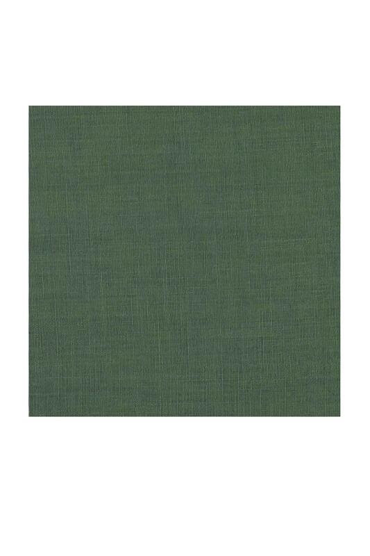 Payidar İpek - Payidar İpek Dikişsiz Düz Yazma 100 cm | Yosun Yeşili 356