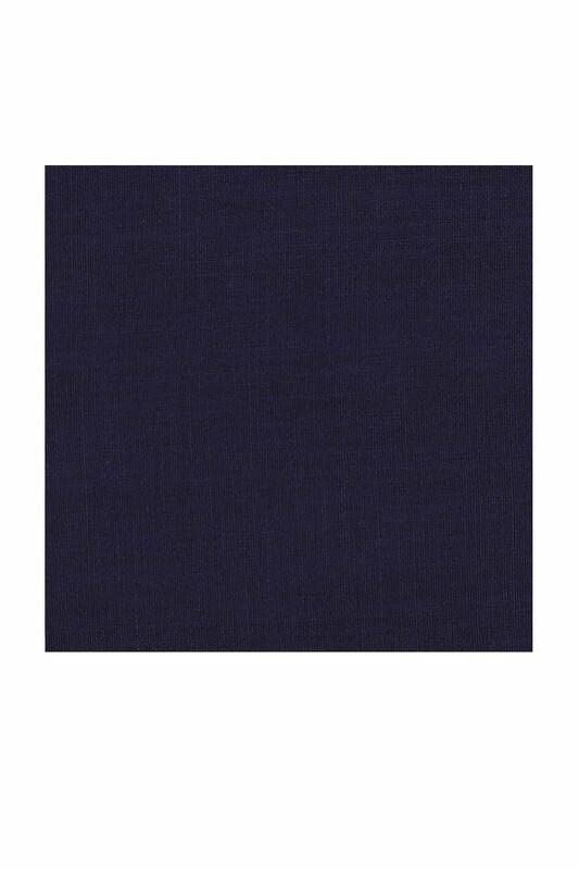 Payidar İpek - Payidar İpek Dikişsiz Düz Yazma 100 cm | Lacivert 455